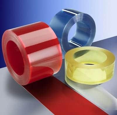רצועות לווילון PVC
