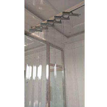 וילונות PVC הניתנים להסטה ידנית / חשמלית