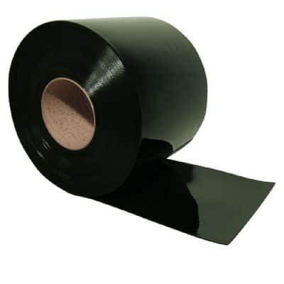 וילון פי.וי.סי בצבע ירוק כהה