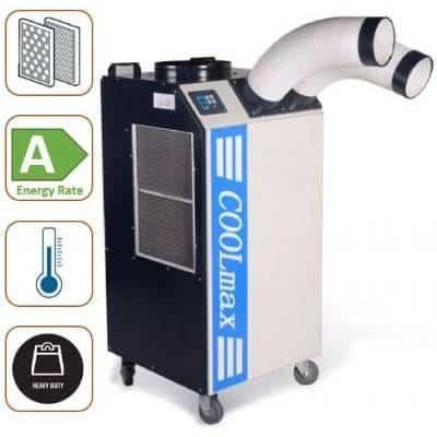 מזגן נייד תעשייתי Asystem CoolMax75