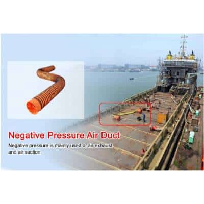 שרוול אוויר תעשייתי ללחץ גבוה