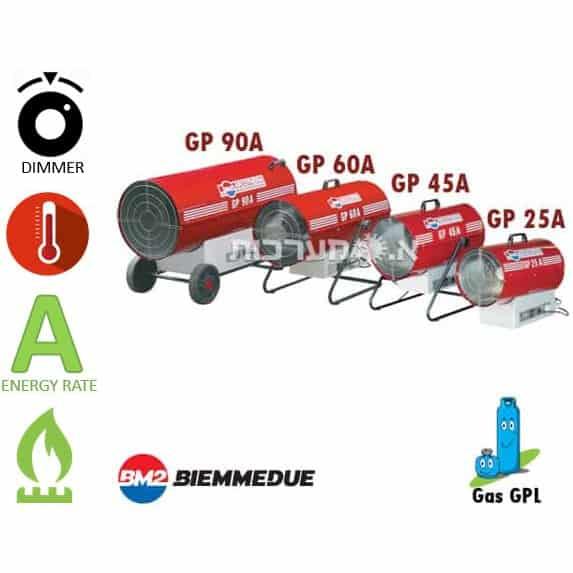 תנור אוויר חם גז Biemmedue