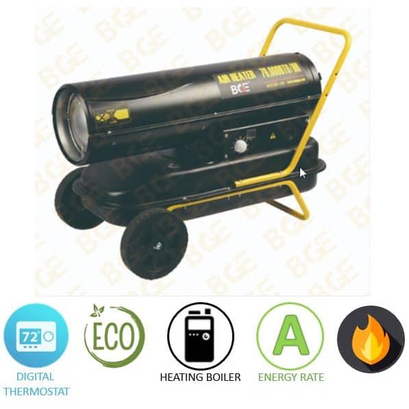 תנור אוויר חם סולר BGE