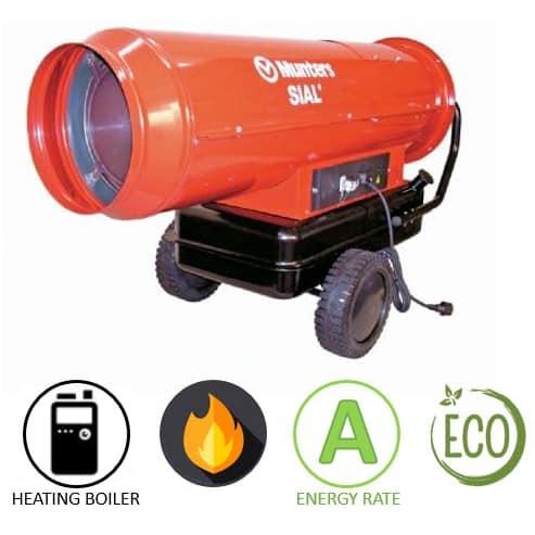 תנור אוויר חם סולר Munters TOR