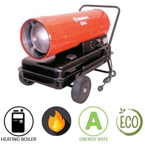 תנור אוויר חם סולר Munters GRY