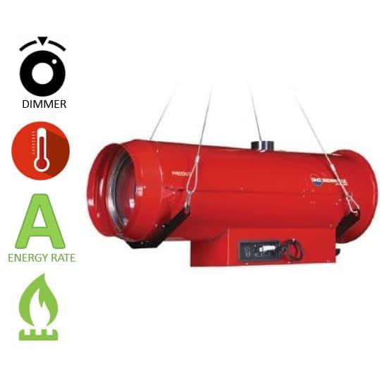 תנור אוויר חם גז BM2 Phoen/s 110