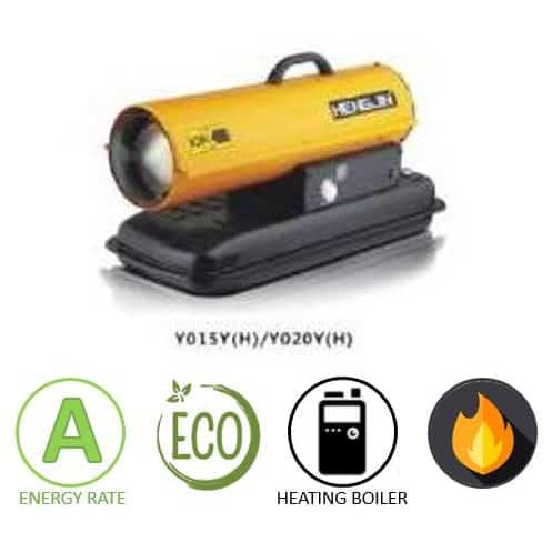 תנור אוויר חם סולר ארובה Proline Y015Y