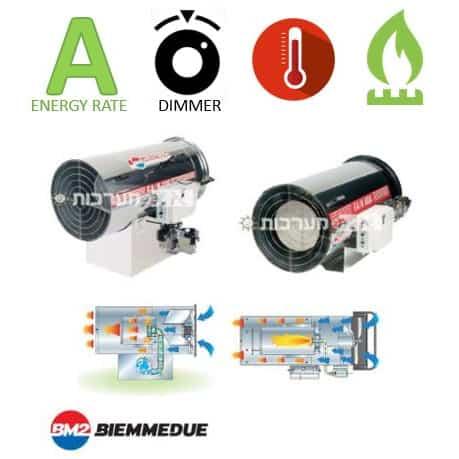 תנור אוויר חם גז Biemmedue GA/N
