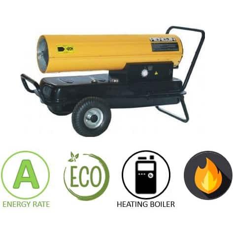 תנור אוויר חם סולר ארובה Proline Y050Y