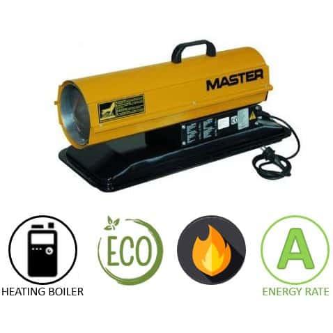 תנור אוויר חם סולר MASTER B35 CED