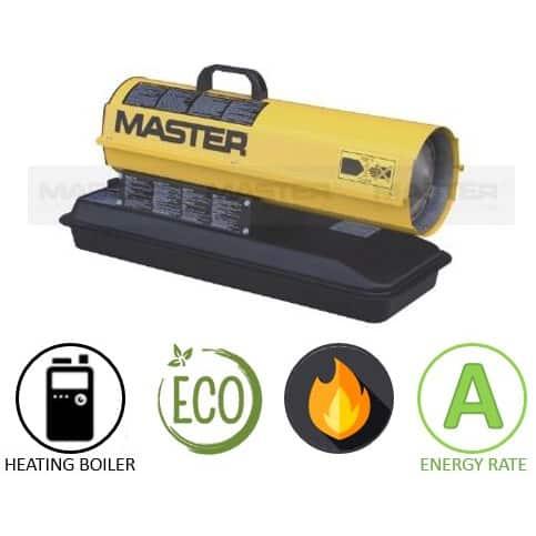 תנור אוויר חם סולר MASTER B70 CED