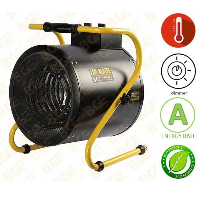 תנור אוויר חם חשמלי נייד BGE