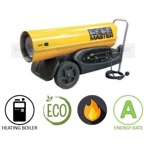 תנור אוויר חם סולר MASTER B180 CED