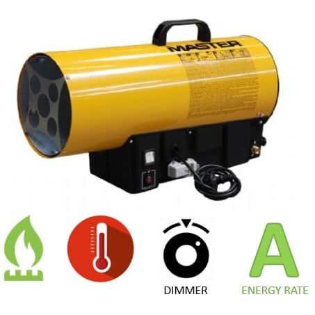 תנור אוויר חם גז MASTER BLP 33E