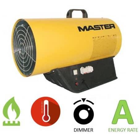 תנור אוויר חם גז MASTER BLP