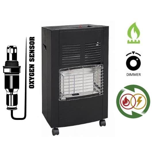 תנור חימום גז ביתי Asystem H5201