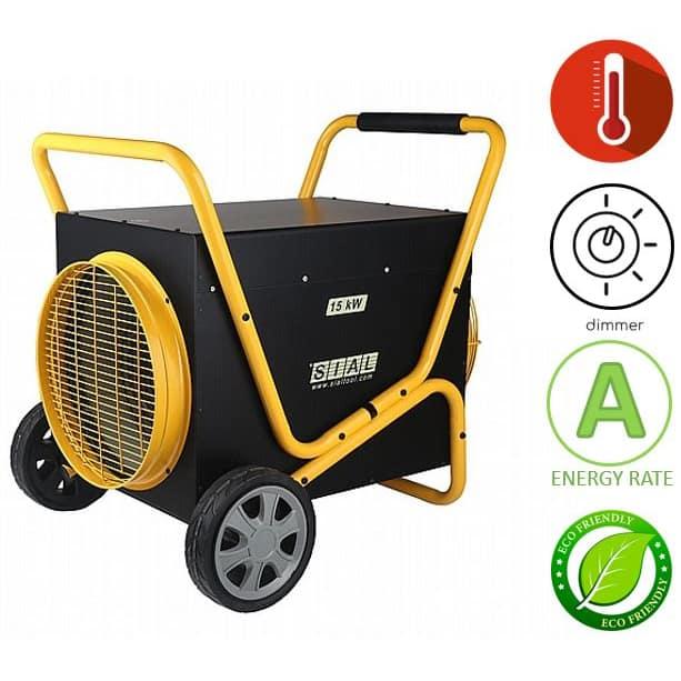 תנור אוויר חם חשמלי Sial D150FT