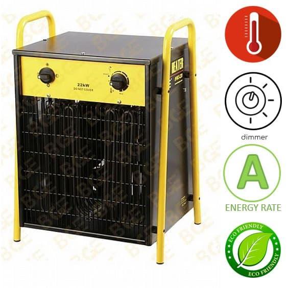 תנור אוויר חם חשמלי נייד BGE IFH03-220H