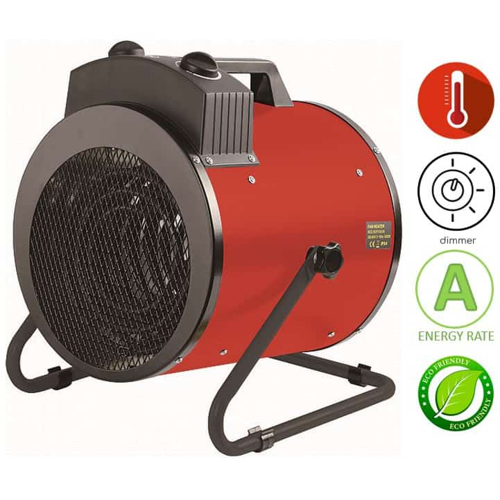 תנור אוויר חם חשמלי נייד Asystem BGP1505-09